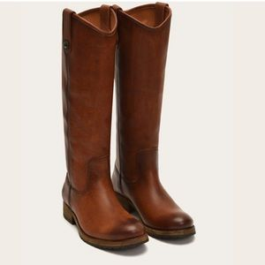 Frye Melissa (wide calf) Button Boot!